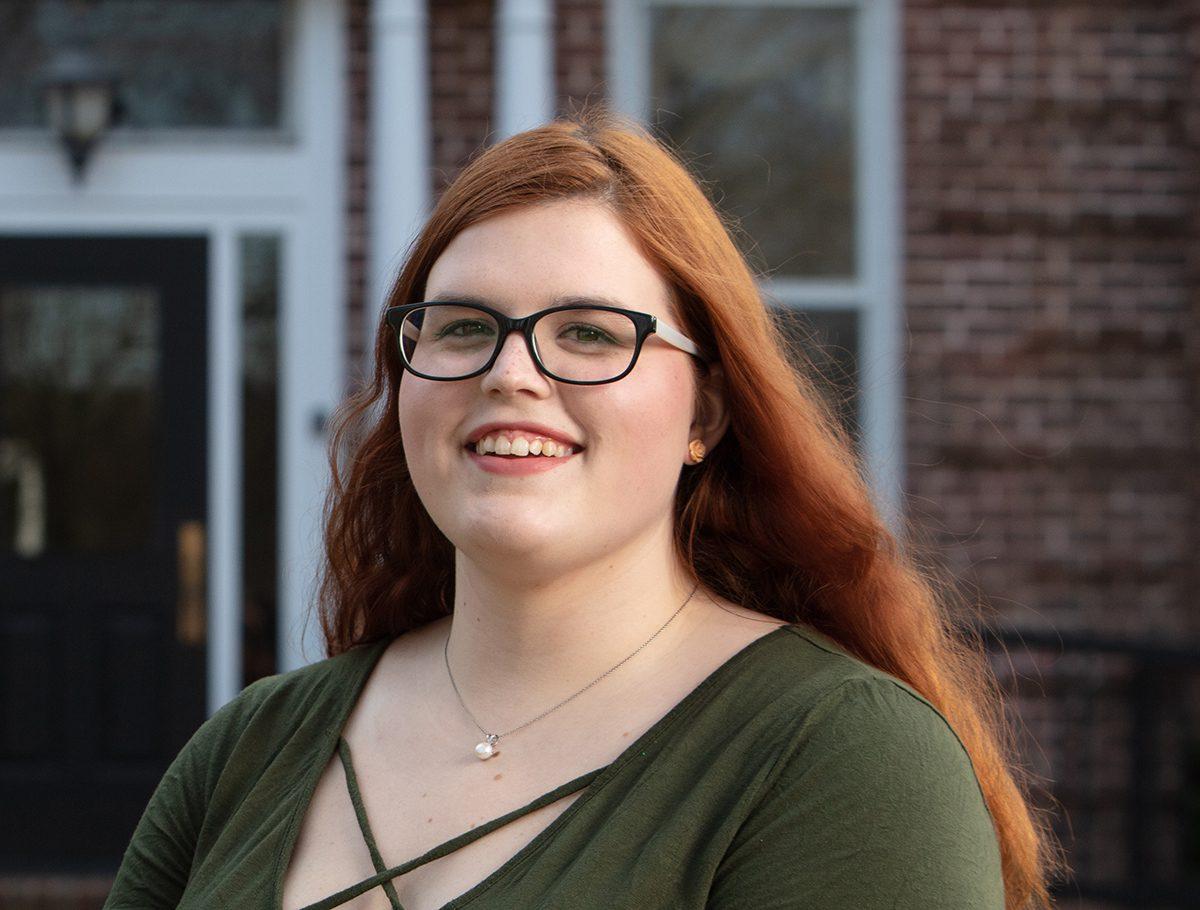 Stephanie Brooks, English major
