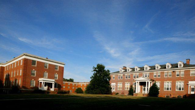 Photo of Rebecca Hall and Blue Ridge Hall
