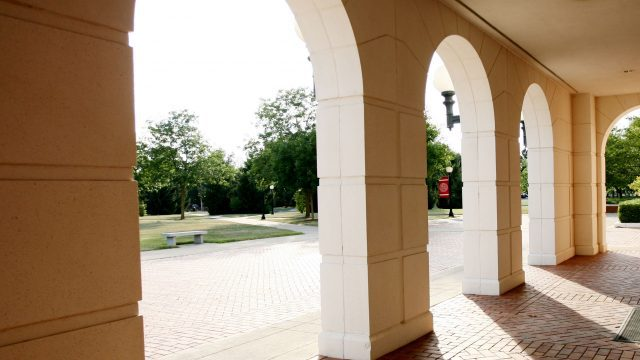 Front arches of the McKinney Center