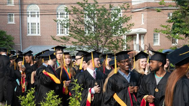 BC graduates get ready for Commencement