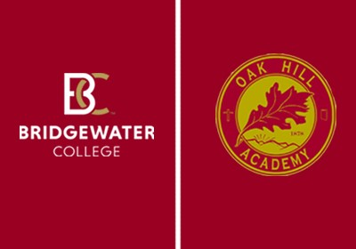 Logos from Bridgewater College and Oak Hill Academy|Logos from Bridgewater College and Oak Hill Academy|Logos from Bridgewater College and Oak Hill Academy