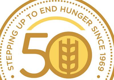 CROP's 50th Anniversary Logo|CROP's 50th Anniversary Logo