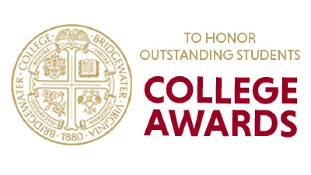 College logo with words To Honor Outstanding Students