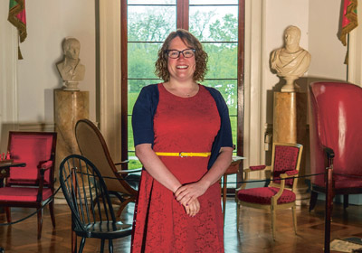 Past Perfect: History Buff Found Her Future in Preserving the Past