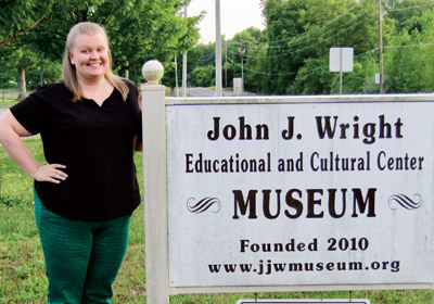 Alumni spotlight: Clarissa Sanders '14 Helps Small Museums Tell Their Stories