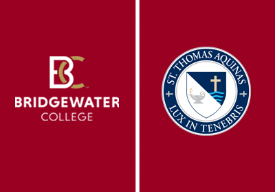 Bridgewater College and St. Thomas Aquinas High School  Sign College Admission Agreement