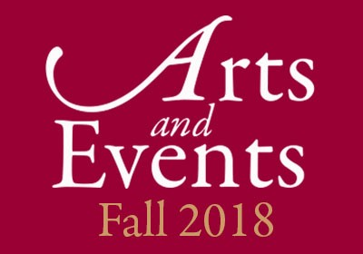 Arts and Events Fall 2018