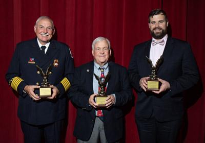 Photo of BC Alumni Award Winners Photo of BC Alumni Award winners Bridgewater College Alumni award winners Keith Brower