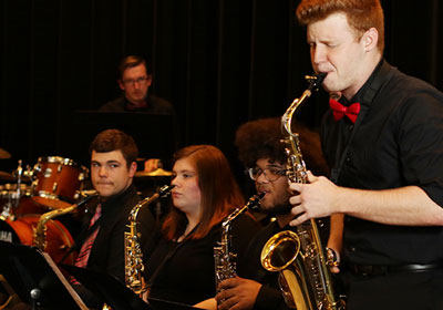 Photo of Jazz Ensemble performers||Photo of Jazz Ensemble performers