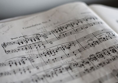 Photo of a sheet of music|Photo of a sheet of music