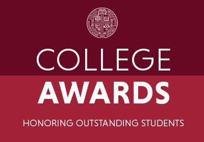 Bridgewater College Presents English Awards