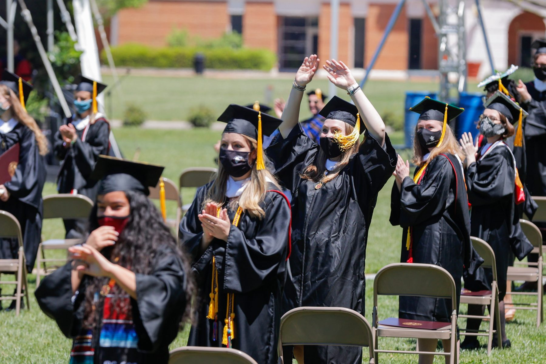 Bridgewater College Holds In-person Commencement Ceremonies May 1-2
