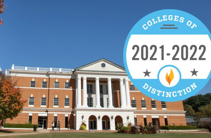 Bridgewater College Receives National Recognition from Colleges of Distinction
